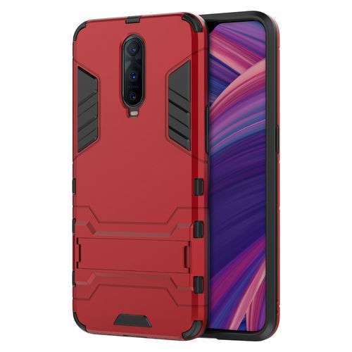 Slim Armour Tough Shockproof Case for Oppo R17 Pro - Red